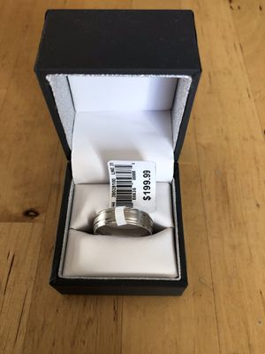 Sterling Silver Male Wedding Band for Sale in Los Angeles, CA