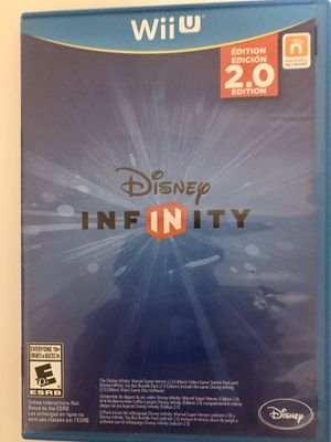 Nintendo Wii U Disney Infinity 2.0 Complete for Sale in Fuquay-Varina, NC