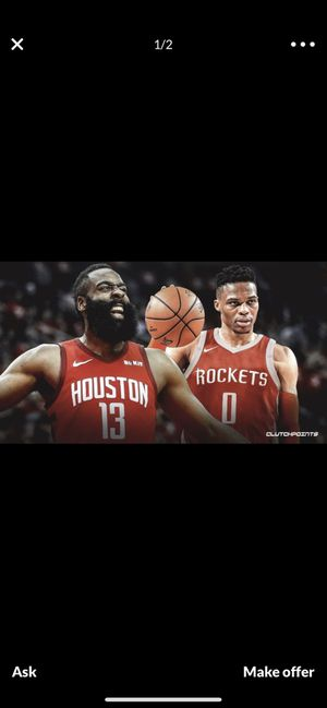 Rockets tickets for Sale in Houston, TX