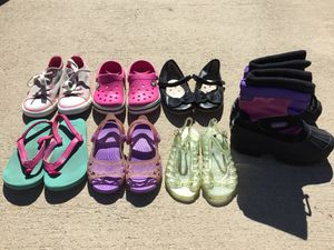 Little Girls Size 9, 9/10, 10 Shoes! for Sale in Goose Creek, SC
