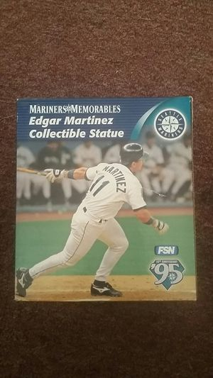 Edgar Martinez never been removed from the foam collectible statue. for Sale in Seattle, WA