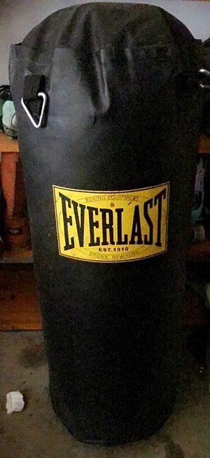 Everlast punching bag for Sale in Florissant, MO