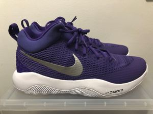 b6e72322d93a Nike Zoom Rev TB Men s Basketball Shoes 🏀 922048-500 Purple White Sz 12