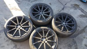 20 INCH STAGGERED MECEDEZ RIMS for Sale in Paramount, CA