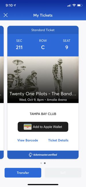 21 pilot tickets for Wednesday night for Sale in Spring Hill, FL