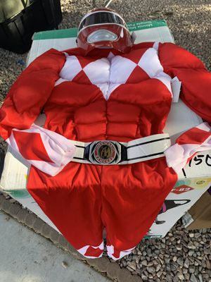 New power rangers costume size 8-10 asking $10 price is firm for Sale in North Las Vegas, NV