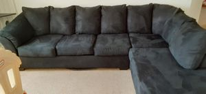 Black Sectional sofa for Sale in Kissimmee, FL