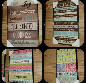 Life Code - 4 Wall Decors for Sale in Columbia, MD