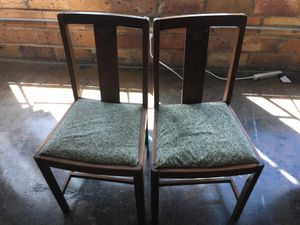 Antique side or dining chairs. Sold together. for Sale in Dallas, TX