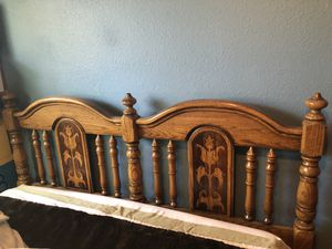 Solid Wood Bedroom Set for Sale in Modesto, CA