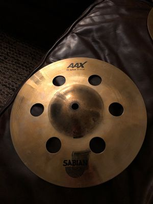 "Sabian AAX Air Splash cymbal 10"" for Sale in Rancho Cucamonga, CA"