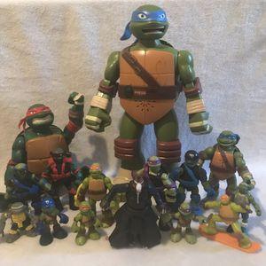 Ninja Turtles & Avenger Action Figure Bundle Set- Leonardo, Raphael, Donatello, Michelangelo, Master Splinter + Captain America, Hulk, Thor for Sale in Boston, MA