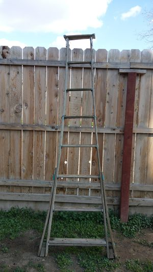 Wood ladder for Sale in Porterville, CA