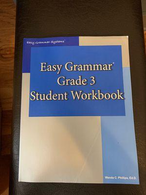 Easy Grammar Grade 3 Student Workbook for Sale in Crozet, VA