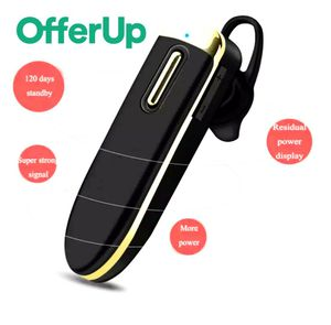 Wireless Earphone Bluetooth Headset Business Long standby Headphone Hands Free Earpiece For iPhone Android iOS Samsung for Sale in Dowling Park, FL