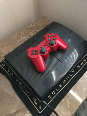 PS3(PlayStation 3) SUPER SLIM for Sale in Fresno, CA