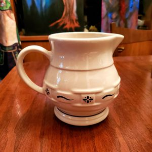 Longaberger pottery original water pitcher in blue for Sale in Lakewood, CO