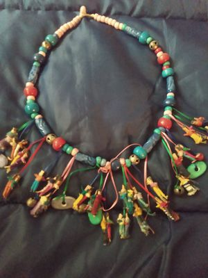 Antique rare handmade worry doll necklace for Sale in Richland, WA