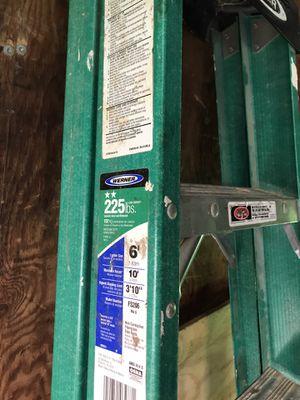 Werner 6ft step ladder for Sale in Palos Hills, IL