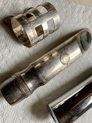 Pro Jazz Tone Tenor Saxophone Selmer Paris Silver Metal Mouthpiece D Original for Sale in Upper Marlboro, MD