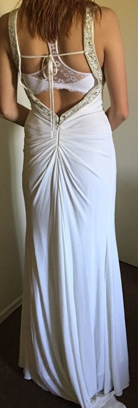 White prom dress for Sale in Beaumont, CA