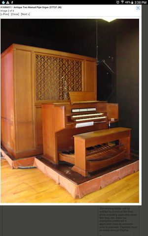 Compact Pipe Organ for Sale in St. Louis, MO