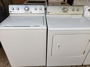 Maytag centennial washer and electric dryer *High efficiency for Sale in Phoenix, AZ