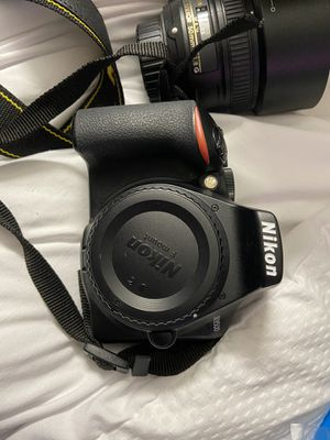 Nikon D3500 with 50mm , 70-300mm , 18-55mm for Sale in Brockton, MA
