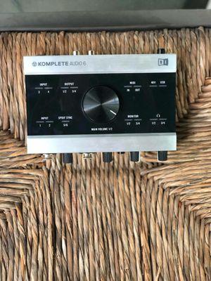 Audio Komplete 6 for Sale in Ashburn, VA