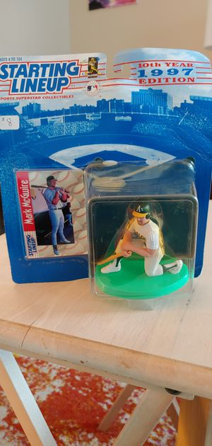 Mark McGwire 1997 starting lineup action figure for Sale in Revere, MA