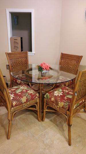 Solid Bamboo Kitchen Table for Sale in NEW PRT RCHY, FL