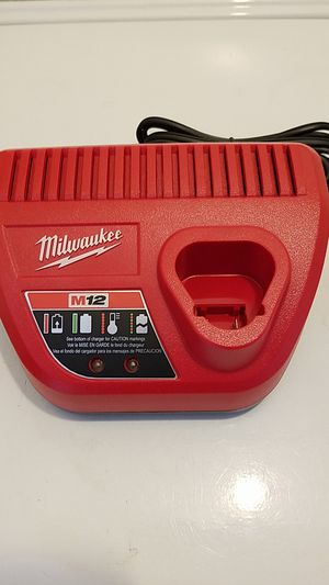 Milwaukee M12 battery charger 48-59-2401 for Sale in New Chicago, IN
