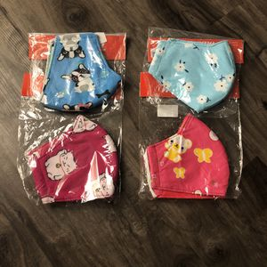 New Cute Cotton Hygienic Face Masks for Sale in Carrollton, TX
