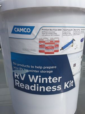 RV travel trailer winter readiness kit Camco for Sale in Lancaster, NY