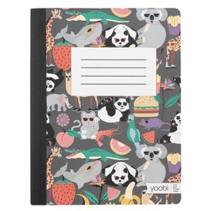 Composition Notebook College Ruled Panda Face - Yoobi for Sale in El Monte, CA