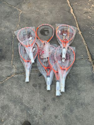 I have 50 tennis rackets one dollars each for Sale in Tustin, CA