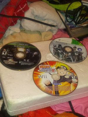 Ps2, ps3, ps4 games, xbox 360 and one games, Ps2 with controller, and 2 xbox 360 controllers for Sale in Akron, OH