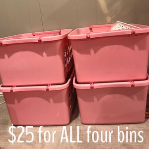 Stackable Toy Storage Bins for Sale in Wheaton-Glenmont, MD