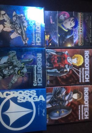 Anime ROBOTECH DVD's for Sale in North Providence, RI