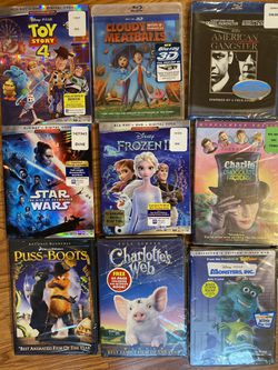 DVD Blu-Rays Kids Movies for Sale in Patchogue,  NY