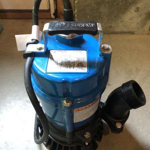 Brand New 2 Inch Tsurumi Submersible Pump for Sale in Wakefield, MA