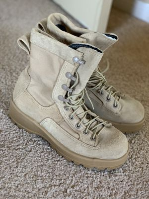 Military Boots Size 6/6.5 in women for Sale in Moreno Valley, CA