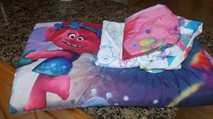 Trolls Bedding from Target Twin Sheet Set and Comforter for Sale in Auburn, WA