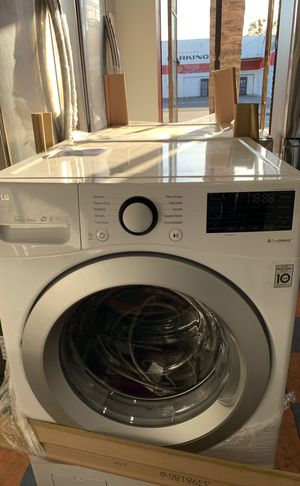 New open box never used🎁 LG washer and dryer Set for Sale in Costa Mesa, CA