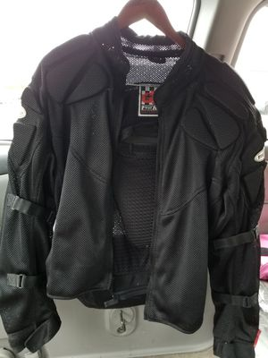 Men's XL Motorcycle Jacket and Vest for Sale in Prospect Heights, IL