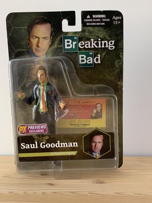 "Mezco Toys Breaking Bad: Saul Goodman (Green Shirt Version) 6"" Action Figure for Sale in Tracy, CA"