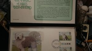 Man's Best Friend the magic of man's best friend dog stamps 1979 for Sale in Keokuk, IA