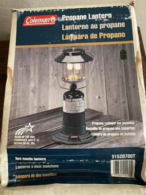 Coleman Propane Lantern for Sale in Mesa, AZ