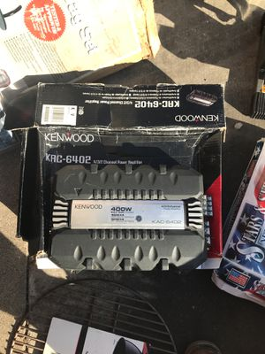 Kenwood amplifier for Sale in Chicago, IL