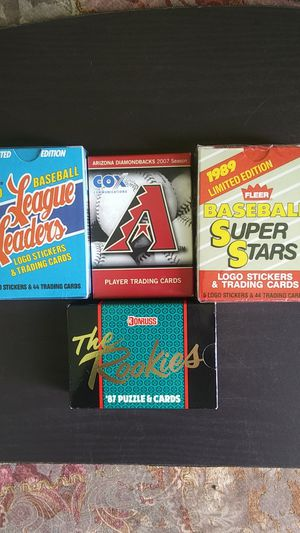For baseball card sets limited edition for Sale in Phoenix, AZ